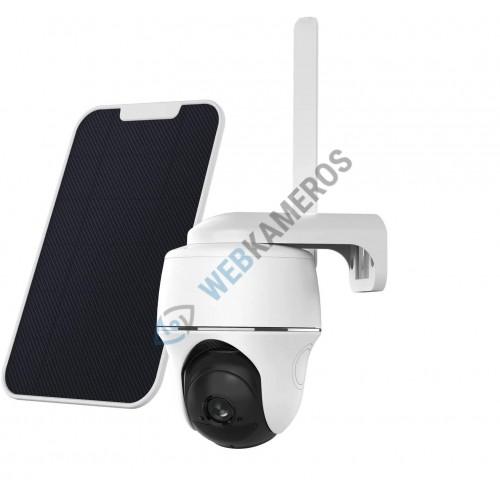 Belaidė kamera su SIM kortele sukinėjama su saulės elementais