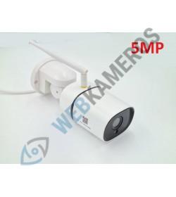 Sukinėjama  WIFI lauko kamera SUNSTAR 5MP