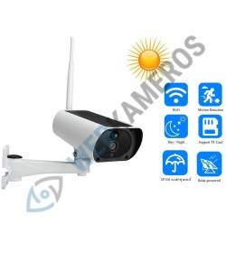 WIFI kamera su saulės elementais
