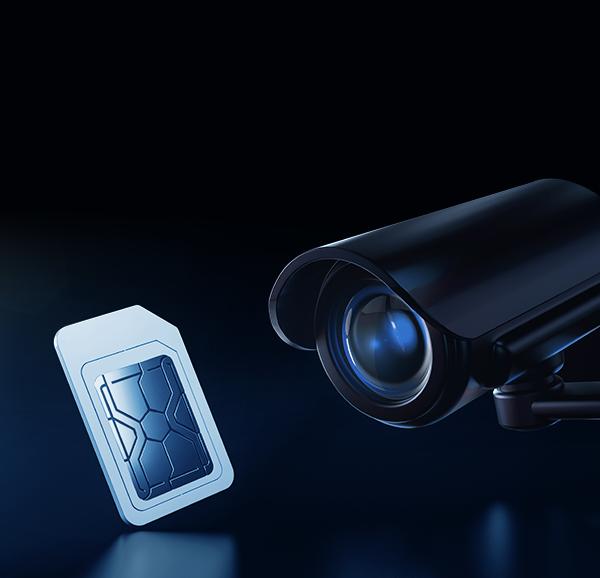 Stebėjimo kameros su SIM kortele